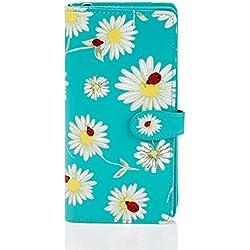Shagwear Monederos para Mujeres jóvenes diseños: (Margaritas y Mariquitas/Daisies and Bugs)