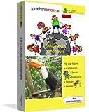 Indonesisch-Kindersprachkurs von Sprachenlernen24: Kindgerecht bebildert und vertont für ein spielerisches Indonesischlernen. Ab 5 Jahren. PC CD-ROM für Windows 10,8,7,Vista,XP/Linux/Mac OS X