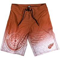 Forever Collectibles Detroit Red Wings Eishockey Boardshorts NHL Badehose