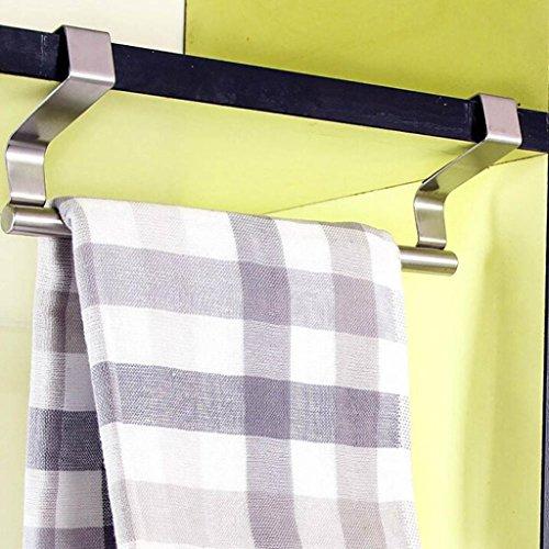 Mmtop 2017Barre porte-serviette à suspendre Pour portes et placards de cuisine/salle de bain