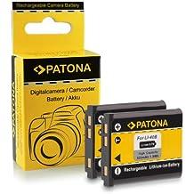 2x Batería Olympus Li-40B   Li-42B / Nikon EN-EL10 / Fuji NP-45 / Pentax D-Li63 / Kodak Klic-7006 / Casio NP-80 para Fuji FinePix J10   J15   J100   J110w   J150w   Z10fd   Z20fd   Z100   Z100fd   Z200fd   Kodak EasyShare M883   M873   Nikon S200   S210   S220   S230   S500   S510   S520   S600   S700 y mucho más…