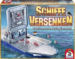 Schmidt - 49232 - Jeu de Plateau - Bataille Navale Deluxe