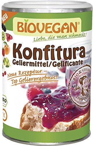 Biovegan - Konfitura / Geliermittel für 7 kg Obst - 145 Gramm - Rezepte Gefrierschrank