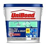 UniBond 1616625Wandfliesenkleber und Mörtel, dreifacher Schutz, Weiß