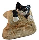 große Keramik Katze