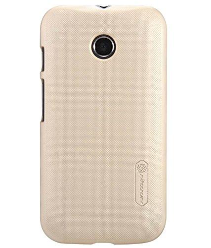 Nillkin Frosted Hard Back Cover For Motorola Moto E (Gold)