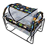 Baybee Cocoon Swing Cradle (Dark Blue)