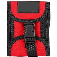 Alomejor Scuba Weight Pocket 3KG Scuba Diving Weight Belt Pocket Recortar Contador de Peso Bolsillo con Hebilla de liberación rápida para Buceo, Snorkel(Red)