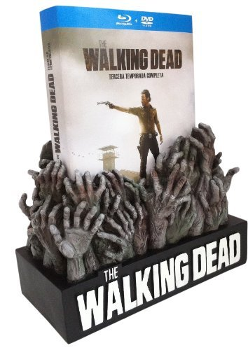 The Walking Dead (Complete Season 3) - 5-Disc Box Set & Figure Of Hands ( ) (Blu-Ray & DVD Combo) [ Spanische Import ] (Blu-Ray) - Dvds Box-sets Walking Dead