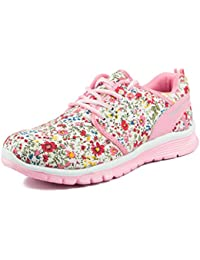 Asian shoes Classy-31 White pink Canvas Ladies Shoes