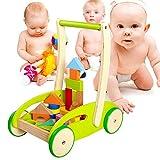 Baby Lauflernwagen Aus Holz Multifunktional Verteidigung Rollover Trolley Kind Baby Gehen Lernen...