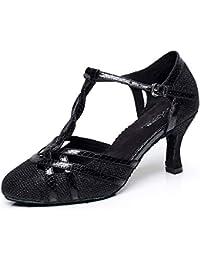 Amazon.es  zapatos de baile latino mujer - 42   Zapatos para mujer ... 75257aff30f1