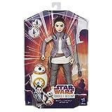 Hasbro Star Wars C1628ES0 - Die Mächte des Schicksals 11 Zoll Deluxe Action Puppen 2er Set - Rey und BB8, Actionfiguren