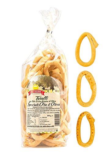 Taralli Classici Pugliesi con olio extra vergine d'oliva 3 pacchi da 300 g.
