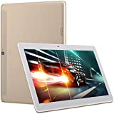 Tablette multimédia 10' Android 6.0 4G Octa Core 32 Go ROM 2Go RAM Or