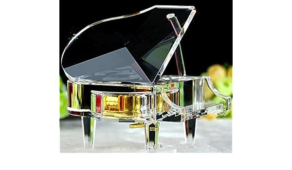 FTVOGUE Mini Piano Mod/èle en Bois Instrument De Musique Mod/èle Home Decor Ornements De No/ël Anniversaire Cadeau De Saint Valentin