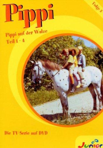 DVD 5: Folge 18-21 - Pippi auf der Walze