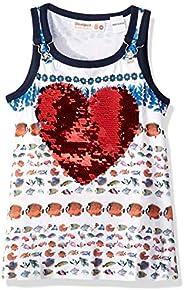 Desigual Girl Knit T-Shirt Straps (TS_Summer) Camiseta para Niñas