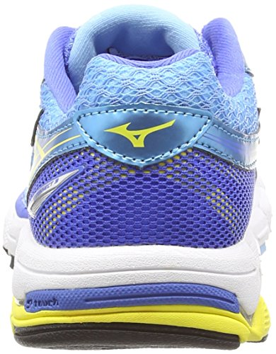 Mizuno Wave Connect 3 Damen Laufschuhe Blue (Blue Grotto/Buttercup/Palace Blue)