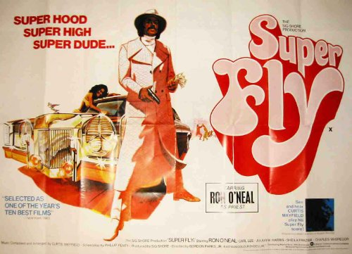 superfly-huge-film-carta-poster-misure-totale-100-x-70-cm-greatest-film-collection-directed-by-gordo