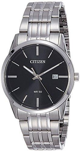 Citizen Analog Black Dial Men's Watch - BI5000-52E