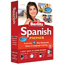 Berlitz Learn Spanish Premier (PC/Mac) (6 CD Set - Windows & Macintosh)