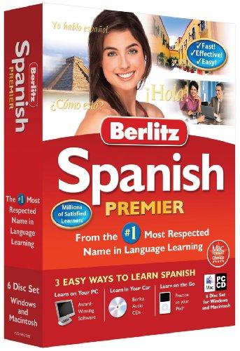 Berlitz Learn Spanish Premier (PC/Mac) (6 CD Set - Windows & Macintosh) Test