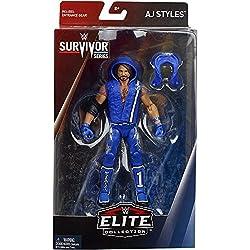 WWE AJ Styles Survivor Series Elite Limited Edition Action Figure Wrestling