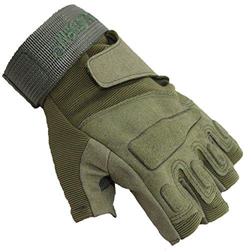 NACOLA Half Finger Radfahren Handschuhe, Erwachsene Sommer Reiten Handschuhe mit Handgelenkbandage, Motorrad Handschuhe rutschfeste Handschuhe M color 2