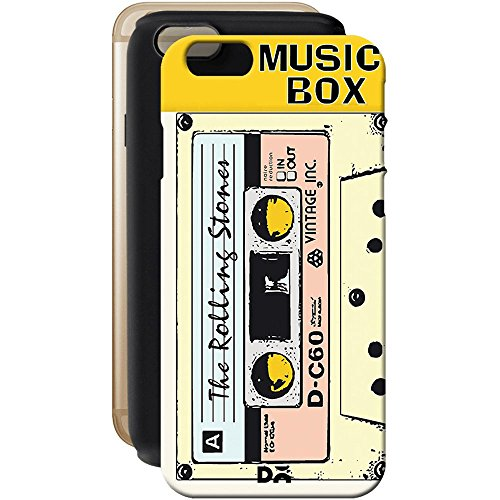 DailyObjects Music Box Yellow Tough Case For iPhone 6