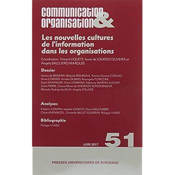 Les nouvelles cultures de l'information dans les organisations