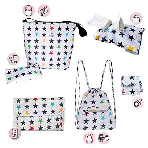 My Bag's Set Bolso Silla Paseo + Cambiador + Neceser