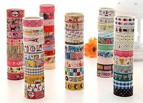 Tape Machine - Lau&Home 5M Lot de 10 rouleaux de