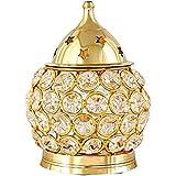 Generic Arti Stand Brass Table Diya / Deepak / Jyot For Pooja - 10 Inch (Gold)