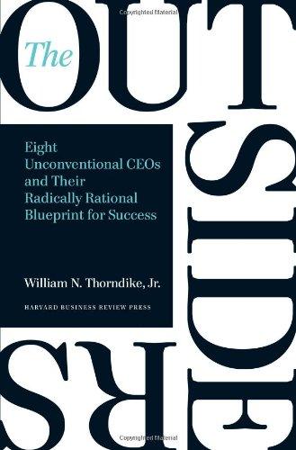 Buchseite und Rezensionen zu 'The Outsiders: Eight Unconventional CEOs and Their Radically Rational Blueprint for Success' von William N. Thorndike