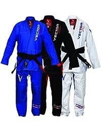 908b0e61cc42 jiu-jitsu brésilien JJB Kimono Blanc avec ceinture pour homme et femme  accessoires coordonnés Pearl