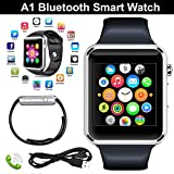 Bluetooth-Smart-Watch-A1-Bluetooth-Waterproof-GSM-SIM-Phone-Smart-Watch-For-Android,-IOS,-&-Smart-Phones-(Black)