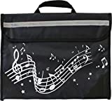 Musicwear: Wavy Stave Music Bag (Black)
