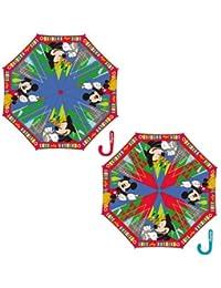 Paraguas automatico Mickey Disney 48cm surtido