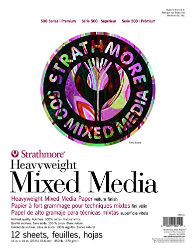 Strathmore 500 Series Heavyweight Mixed Media Pad 11