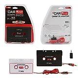 Osan Auto Cassette Adattatori Autoradio Stereo Cassetta Adattatore per iPod, iPad, iPhone, MP3, Dispositivi Mobili, 3 FT Cavo 3.5 mm maschio e 2.5 mm maschio