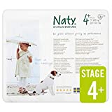 Naty by Nature Babycare Couches Écologiques Jetables Taille 2 Mini 3-6 kg - Pack de 4 x 34 Couches