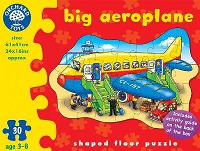 Orchard Toys - Big Aeroplane (Avión grande) [Versión en Inglés] de Orchard_Toys