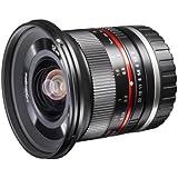Walimex Pro 12 mm 1:2,0 CSC-Weitwinkelobjektiv für Micro Four Thirds Objektivbajonett schwarz