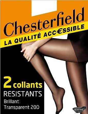 Chesterfield Resistant - Collants - Uni - Femme - Miel - 2