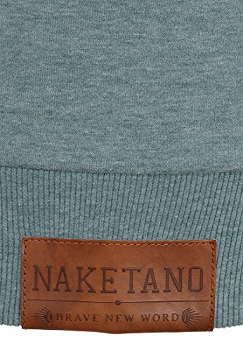 Naketano Male Sweatshirt Schniedeldance Nasty Mint Melange