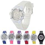 Kanpola Kinder Junge Mädchen Alarm Datum Sport Digital LED Armbanduhr