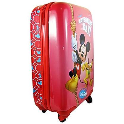 513urtVdzVL. SS416  - Disney Adventure Day Mickey y Pluto Bolso Mochila Trolley Portátil de hasta Maletas Equipaje