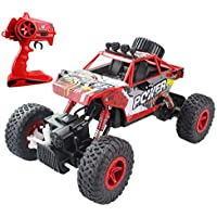 Hugine New Off Road RC Car Rock Crawler 1:18 Vehicle 4x4 Remote Control Race Car All Terrain Dune Buggy Remote Control Monster Truck 2.4Ghz Rechargeable Electric Car Toy - Compare prices on radiocontrollers.eu