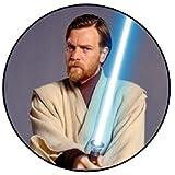 Wan Kenobi Jedi Star Wars Magnet (58mm Durchmesser)
